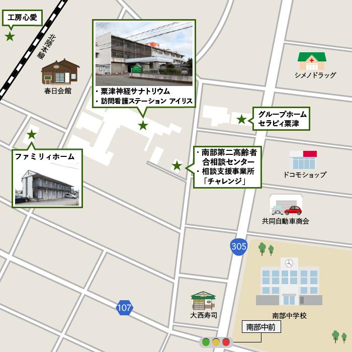 粟津方面詳細マップ