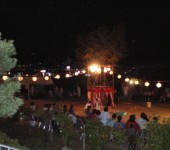 夜の盆踊り