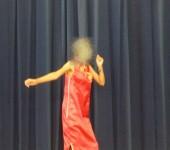 チャイナドレスでのダンス
